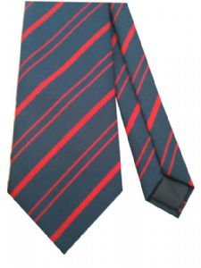 RMP Royal Military Police Regimental Military Stripe Tie